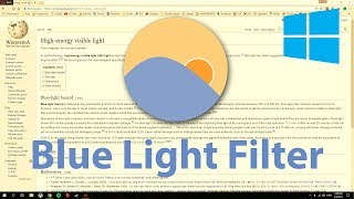 How to Turn on Blue Light Filter in Windows 7, 8, 10 screenshot 4