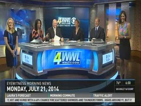 WWLTV Eyewitness Morning News - 6 At 6:00! (7-21-2014)