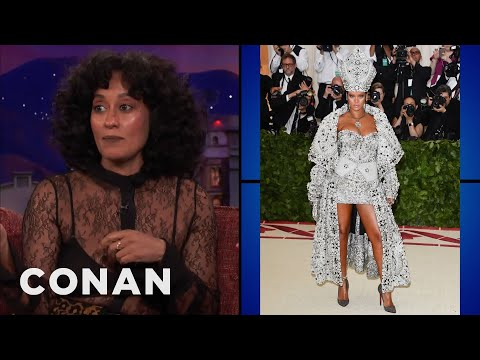 Tracee Ellis Ross & Conan Review Met Gala Fashion  ​  - CONAN on TBS