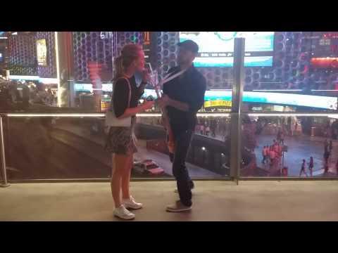 Las Vegas Bag Pipe Drink Dude
