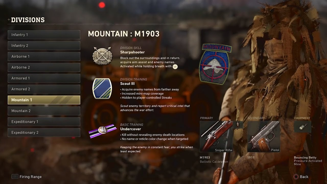 BUILDING CUSTOM CLASSES IN COD WWII! Divisions Are Insanely Powerful