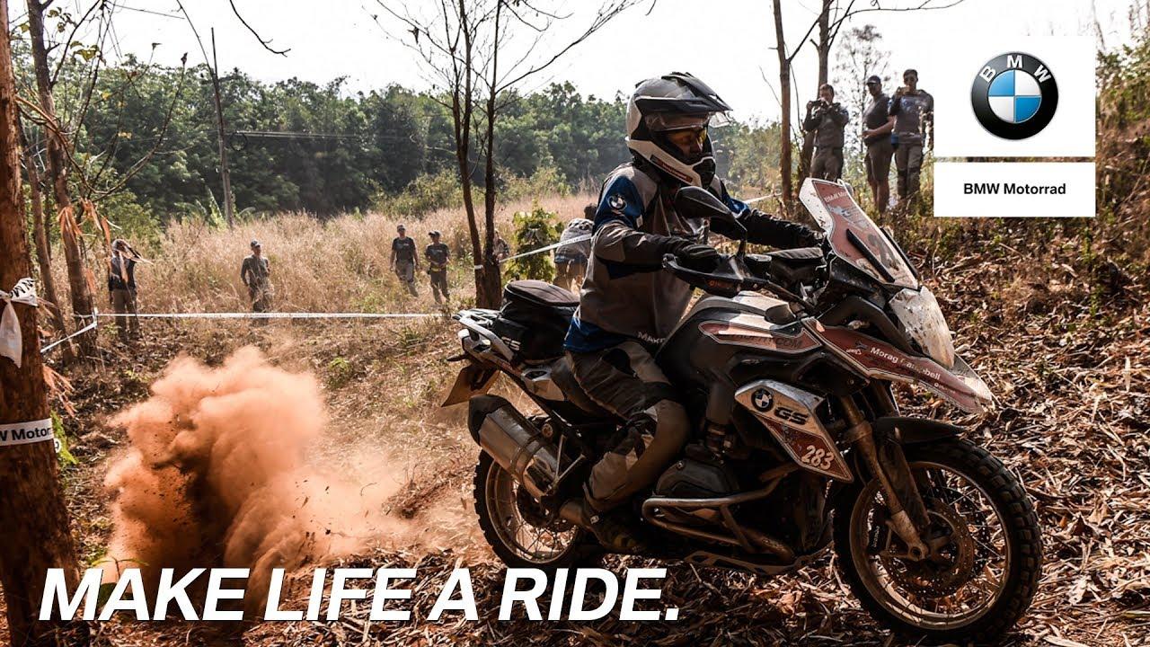 Schal Make Life a Ride Herren   BMW