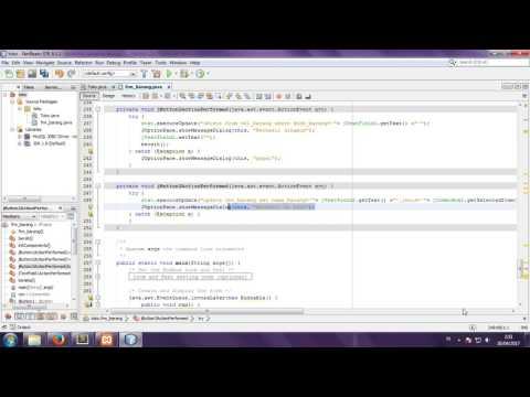 Cara Edit Java