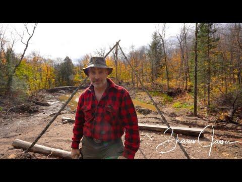 A Bigger Pond for the Off Grid Cabin | Cali's Pond