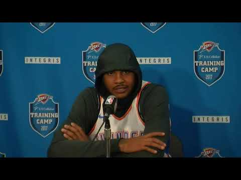 Carmelo Anthony talks about plight in Puerto Rico