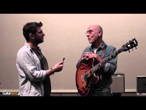 Larry Carlton - Interview, Live Setup || Guitarspot.Gr
