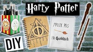 DIY BACK TO SCHOOL HARRY POTTER #5 avec KIDIFUN