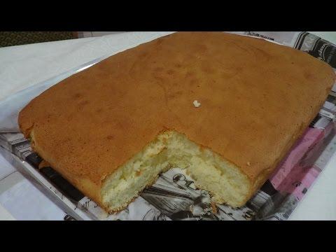 Вкусный и Нежный Бисквит для Торта и Пирожных