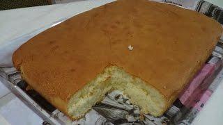 Вкусный и Нежный Бисквит для Торта и Пирожных(Очень вкусный рецептик бисквита для тортов и пирожных. Вкус получается нежный и воздушный. В рецепте исполь..., 2016-06-14T11:09:48.000Z)
