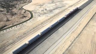 Abu Dhabi's awesome rail system construction