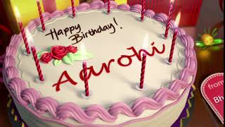 Happy Birthday Aarohi