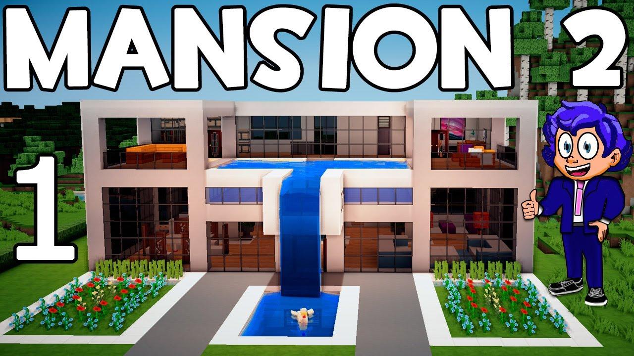 Casa Moderna 9 Mirote Y Blancana Of Mansi N Moderna 2 En Minecraft Parte 1 Presentaci N Y