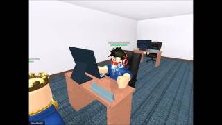 Asking for a Rank Up - A Roblox Short
