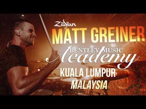 Matt Greiner - Zildjian Malaysia Drum Clinic