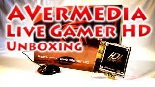 Розпакування AVerMedia Live Gamer HD (Unboxing)