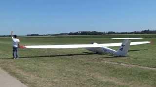 Pilatus B4 winch launch ZC Flevo