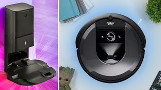 أكثر مكنسة روبوتية تقدما   iRobot Roomba i7+ 🏆