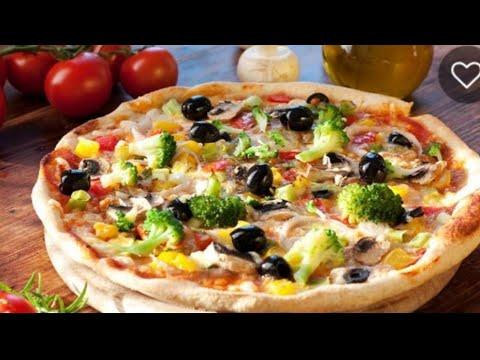 صورة  طريقة عمل البيتزا طريقه عمل البيتزا الخطيره هاتكلوا صوابعكم وراها 👍👍👍👍👍 طريقة عمل البيتزا من يوتيوب