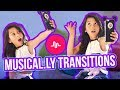 Musically Transitions Tutorial!! How To Do My Favorite Transitions!!   Txunamy