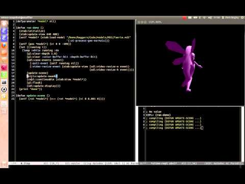 Lisp - Recompiling a game as it runs