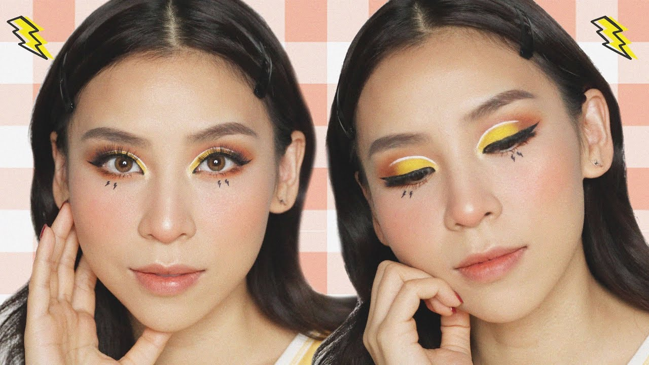 Pikachu Inspired Makeup Look + How I've been feeling