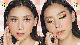 Pikachu Inspired Makeup Look + How I