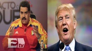 Nicolas Maduro responde a declaraciones de Donald Trump sobre México/ Titulares de la Noche