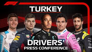 2020 Turkish Grand Prix: Drivers' Press Conference Highlights