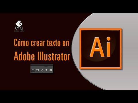 Videotutorial Adobe Illustrator 2019  - Cómo usar  la herramienta de texto de Illustrator thumbnail