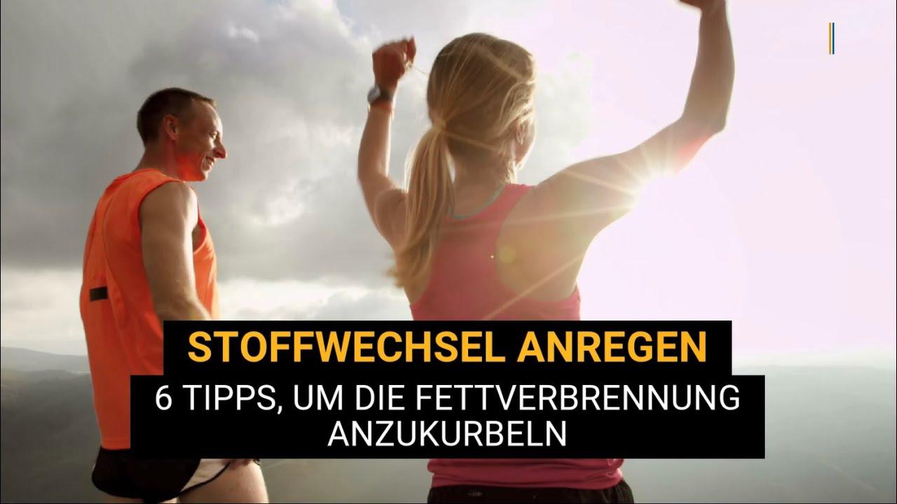 Stoffwechsel anregen & Fettverbrennung ankurbeln: 6 Tipps..