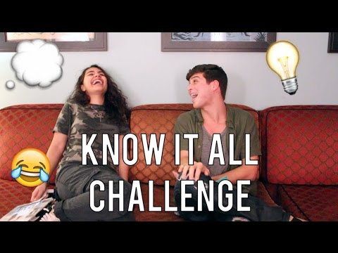 KnowItAll Challenge with ALESSIA CARA