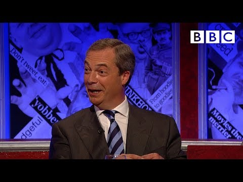 Nigel Farage plays 'Fruitcake or Loony' - Have I Got News for You: Series 47 Episode 2 - BBC One