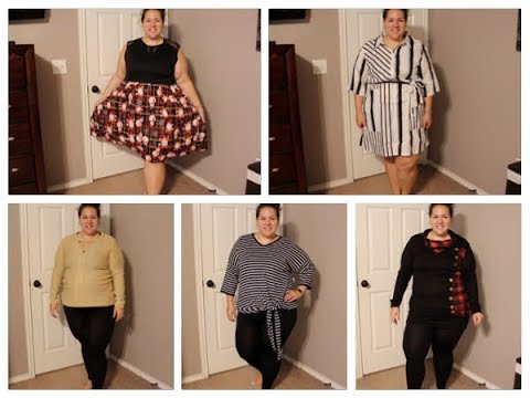 Plus Size Clothing Try-On Haul! ~Winter/H&R Block Clothing!~