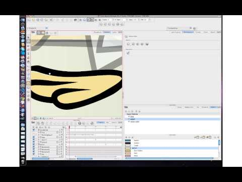 77. Animate - Animate Pro Tutorials:Creating a Simple Cut-Out Animation Part 1