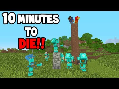 Minecraft Xbox - 10 MINUTES TO DIE!!