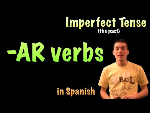 02 Spanish Lesson - Imperfect - AR verbs
