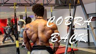 Cobra Back Workout with natural Bodybuilder Onome Egger | Arnold 2.0