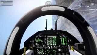 ARMA 3 Gameplay - Testing the F/A -18 Super hornet flight mechanics