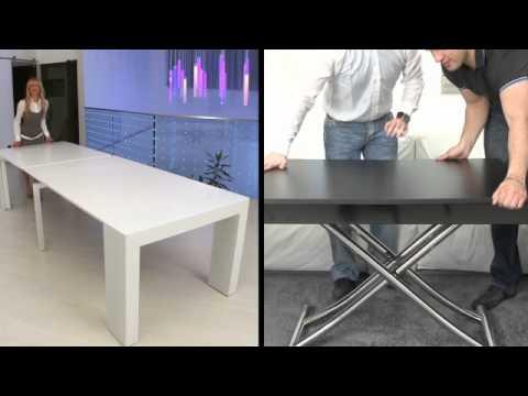 Magic By Ozzio Design.Ozzio Design Italian Space Saving Furniture Youtube