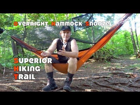 Overnight Hammock Snooze on Superior Hiking Trail