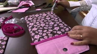 Claudia Ferreira – Fazendo uma capa para tablet
