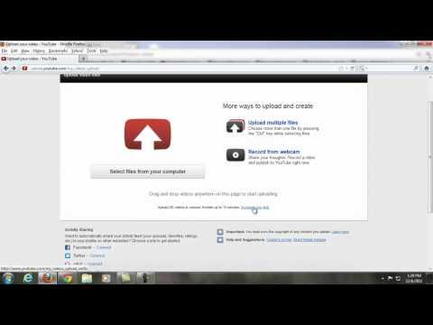 Bagaimana cara mengupload video lebih dari 15 menit di youtube