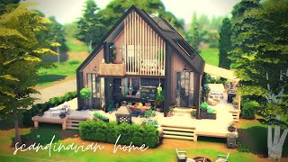 Scandinavian Home | The Sims 4: Speed Build | No CC