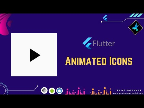 Flutter Animated Icons Example