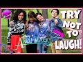 Try Not To Laugh Challenge! Disney Channel Edition | Funny Andi Mack Stars Musically 2017