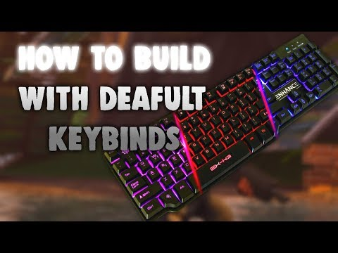 HOW TO PLAY FORTNITE WITH DEFAULT KEYBINDS!! - Fast And Easy