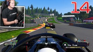 """F1 2019 Career Mode - Part 14 - Raised to 95 """"LEGEND"""" Difficulty"""