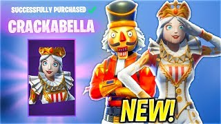*NEW* Fortnite Item Shop CRACKSHOT IS BACK & CRACKABELLA SHOWCASE WITH LEAKED EMOTES..!