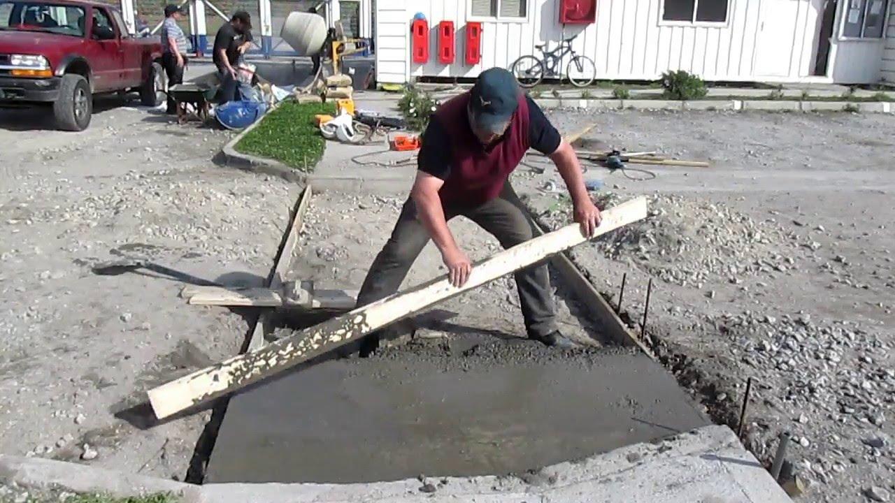 Construcci n de un radier youtube for Construccion de un vivero paso a paso