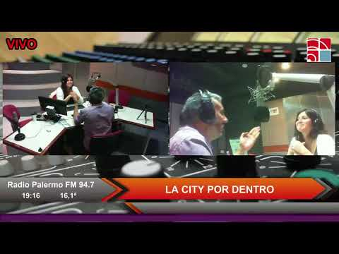 La City por Dentro en Radio Palermo...